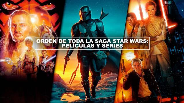 Orden de toda la saga Star Wars: películas y series (2020)
