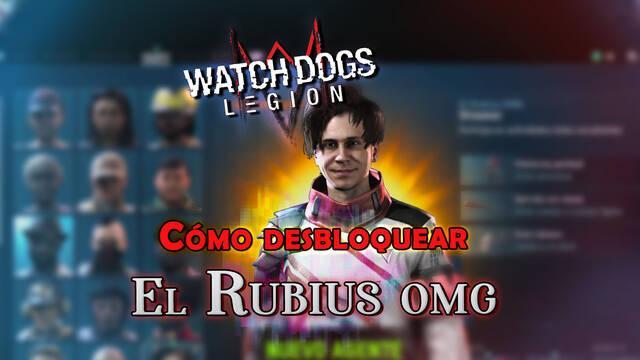 Watch Dogs Legión: Cómo desbloquear a El Rubius OMG gratis