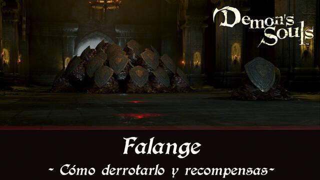 Falange en Demon's Souls Remake - Cómo derrotarlo y estrategias