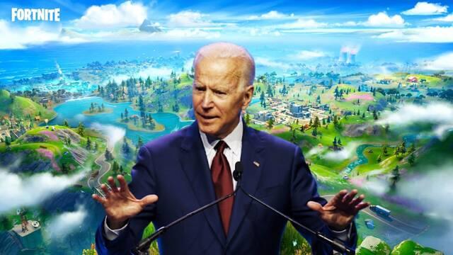 Joe Biden tiene su isla en Fortnite