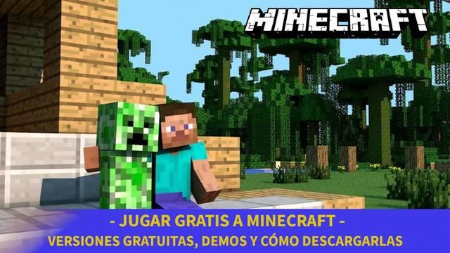Minecraft: Cómo descargar gratis y probar el juego