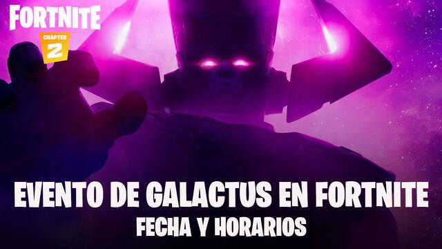 Fortnite evento Galactus