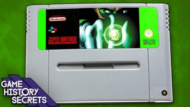 Así era el juego de Linterna Verde para Super Nintendo