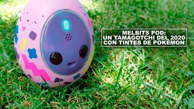 Melbits Pod: Un Tamagotchi del 2020 con tintes de Pokémon