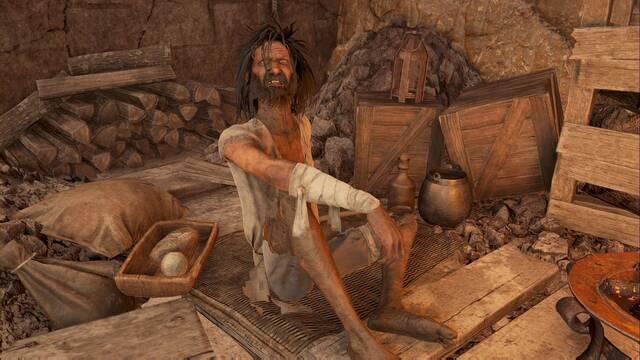 Hombre mugriento en Demon's Souls Remake: quest, objetos, recompensas...