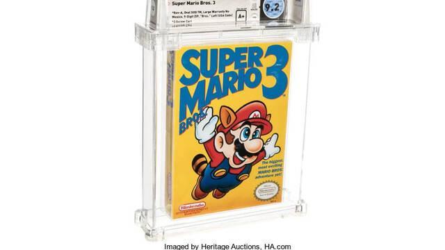 Venden un Super Mario Bros. 3  por 156.000 dólares