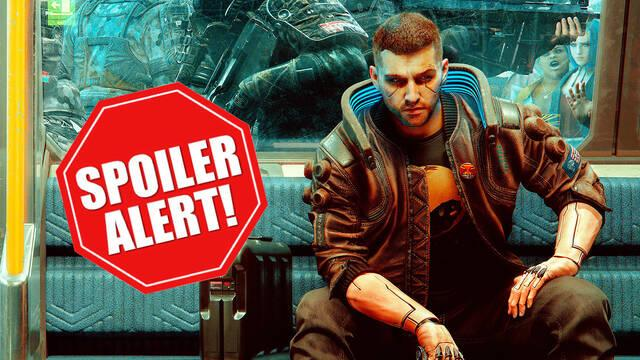 Cyberpunk 2077 copias filtradas aviso de spoilers