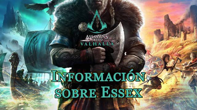 Información sobre Essex al 100% en Assassin's Creed Valhalla