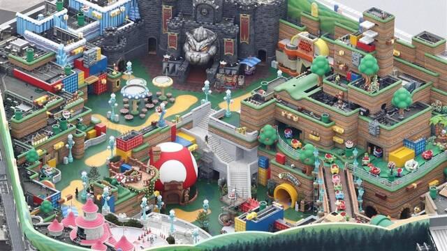 Super Nintendo World anuncio