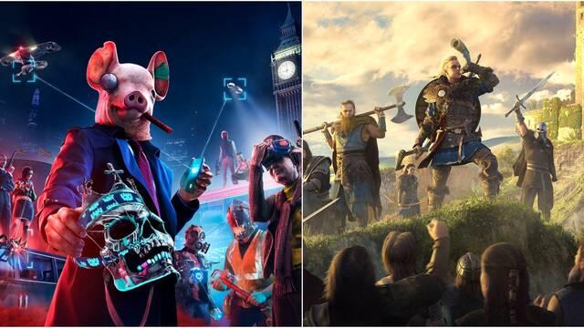 Ubisoft y las actualizaciones a PS5 de AC: Valhalla y Watch Dogs Legion