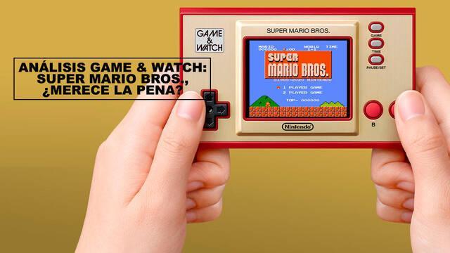 Análisis Game & Watch: Super Mario Bros., ¿merece la pena?