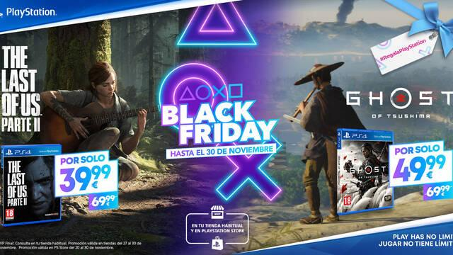 Ghost of Tsushima y The Last of Us Parte 2 ofertas Black Friday