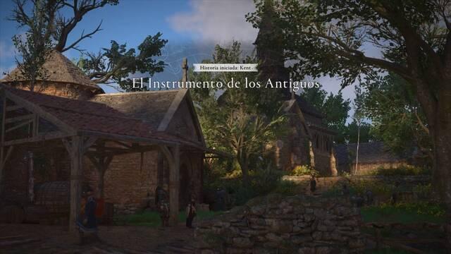 El instrumento de los Antiguos al 100% en Assassin's Creed Valhalla