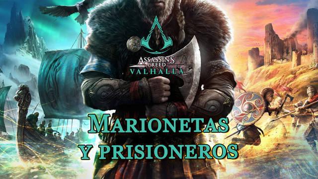 Marionetas y prisioneros al 100% en Assassin's Creed Valhalla