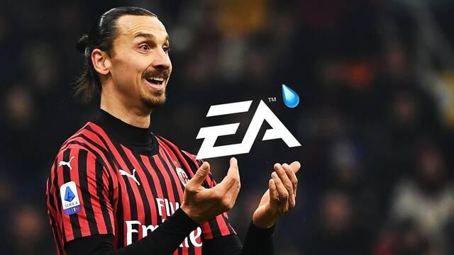 Zlatan Ibrahimović  se enfada con EA y EA responde