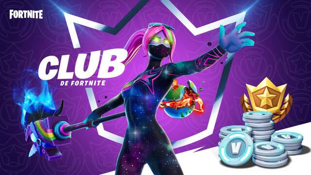Club de Fortnite, una suscripción mensual para Fortnite.