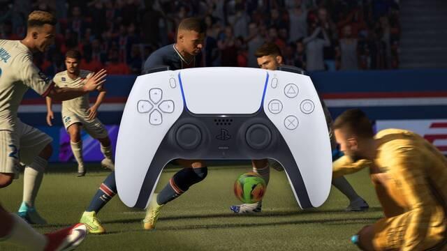 Cómo aprovechará FIFA 21 la tecnología háptica del DualSense de PS5.