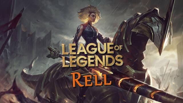 League of Legends - Rell; habilidades y detalles de la nueva campeona