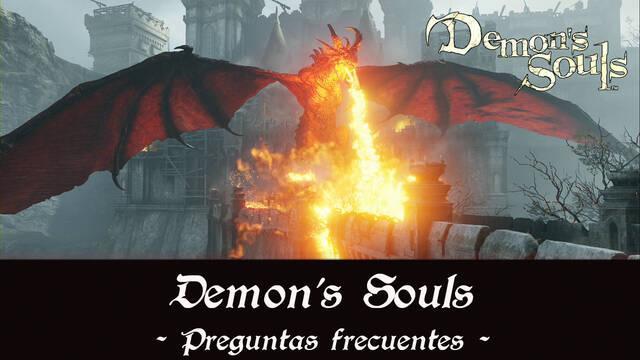 Preguntas frecuentes en Demon's Souls Remake