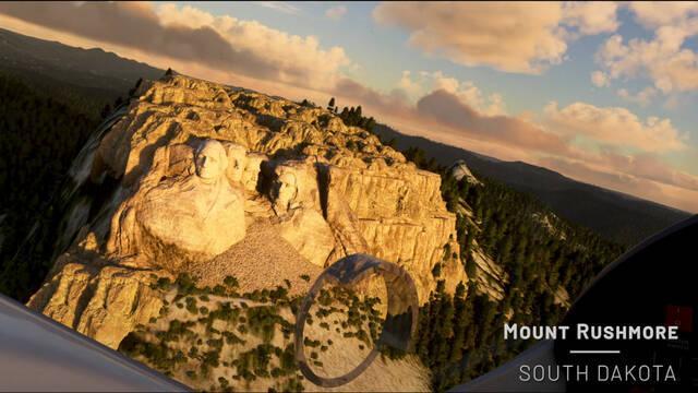 Microsoft Flight Simulator actualización Estados Unidos