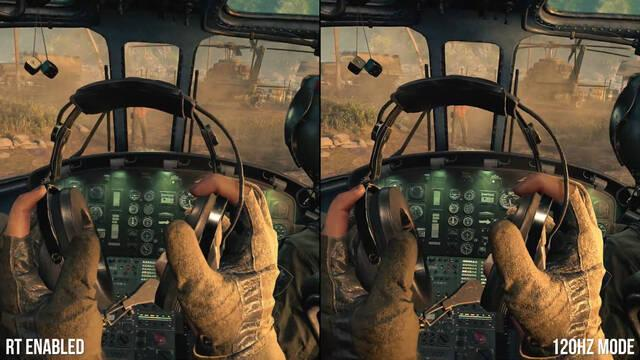 Call of Duty Black Ops Cold War comparativa PS5 Xbox Series X