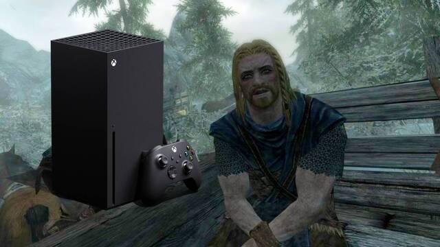 Un mod que consigue que Skyrim funcione a más de 60 fps en Xbox Series X/S.