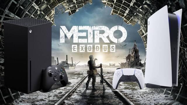 Metro Exodus llegará mejorado a PS5 y Xbox Series X/S.