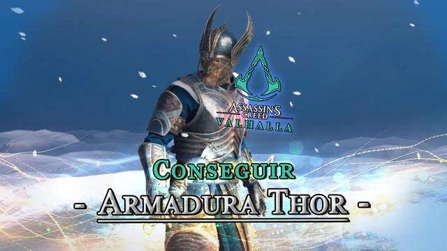 AC Valhalla: Cómo conseguir la Armadura de Thor