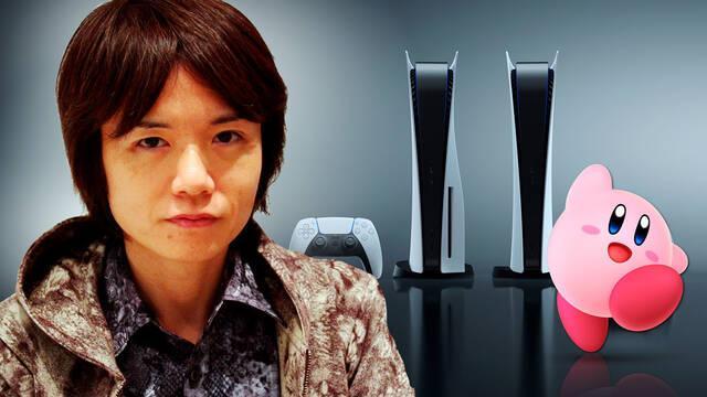 Masahiro Sakurai sobre PS5 creador de Kirby y Super Smash Bros.