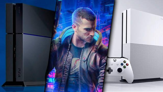 Cyberpunk 2077 en PS4 y Xbox One