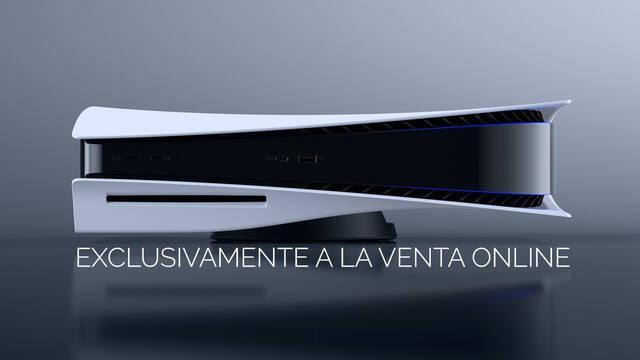 PS5 a la venta en España con reserva online exclusivamente