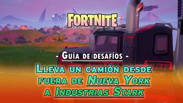 Fortnite: encuentra un camión fuera de Nueva York y llévalo a Industrias Stark