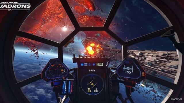 Star Wars Squadrons actualización ps5 xbox series x/S
