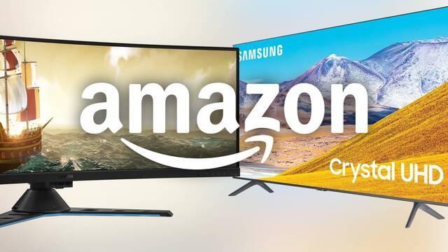 Monitores y televisores en oferta en el Black Friday de Amazon.