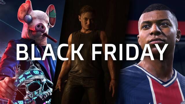 Mejores ofertas del Black Friday 2020 en videojuegos.