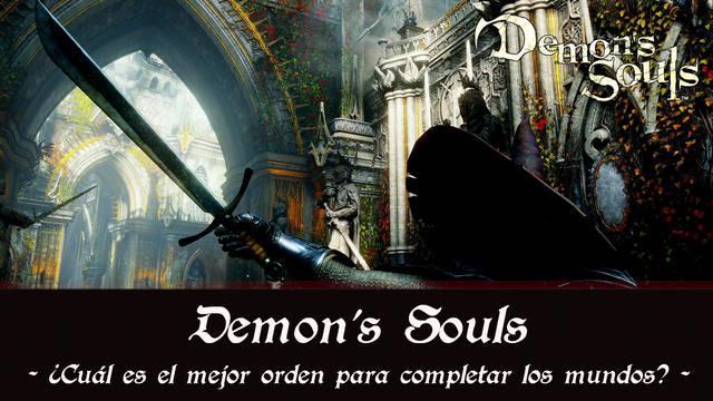 Demon's Souls Remake: ¿en qué orden completar los mundos?