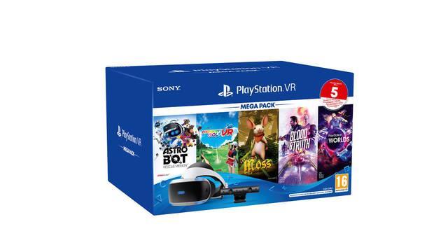 Mega Pack PlayStation VR anuncio