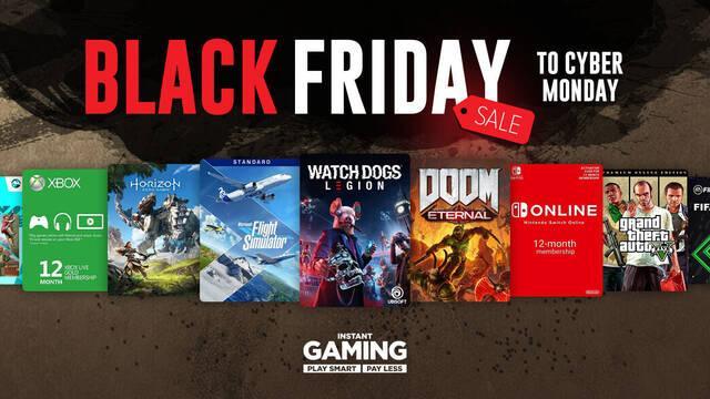 Así es el Black Friday 2020 en Instant Gaming