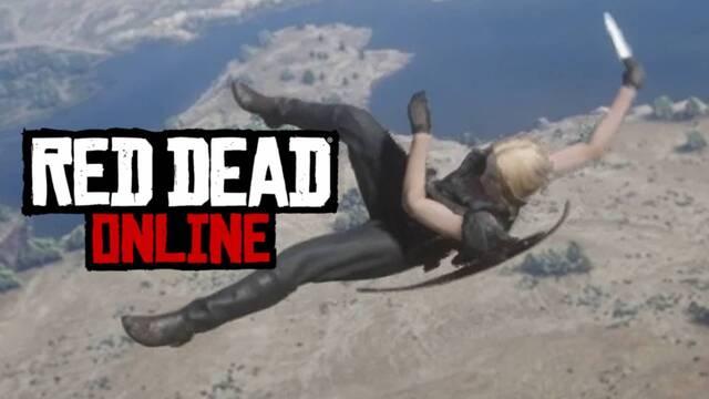 El glitch de Red Dead Online que te lanza por los aires.