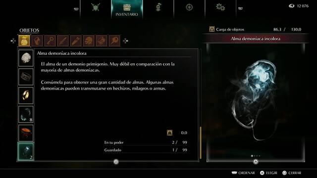 Demon's Souls Remake - Cómo conseguir almas demoníacas incoloras
