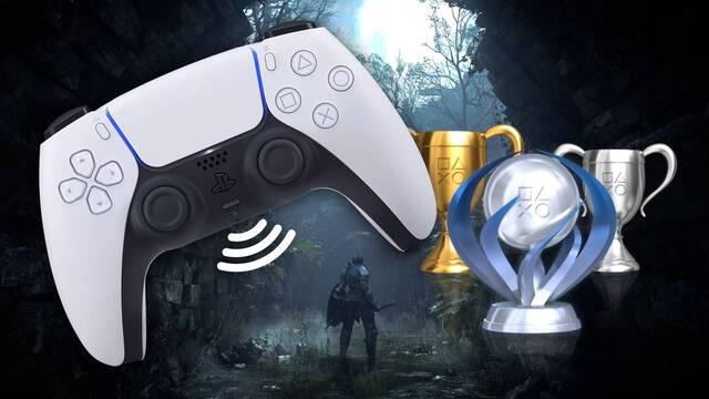PS5 graba tu voz cuando consigues un trofeo.