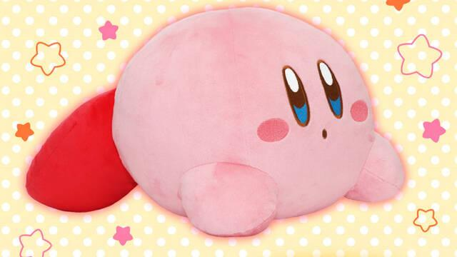 Kirby peluche manta eléctrica