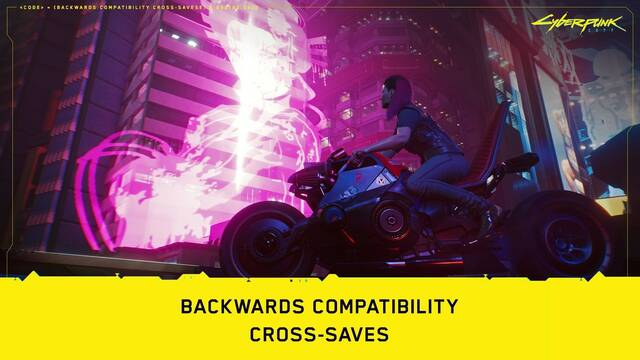 Cyberpunk 2077 partidas guardadas PS4 a PS5 y Xbox One a Xbox Series