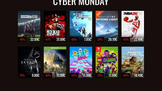 Cyber Monday 2020 en Instant Gaming