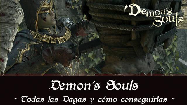 Demon's Souls Remake - TODAS las dagas y cómo conseguirlas