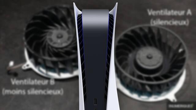 PS5 ha salido a la venta con dos modelos de ventilador.