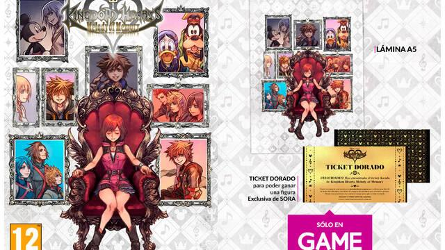 Kingdom Hearts: Melody of Memory y su llegada a GAME