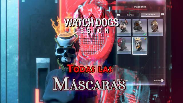 Watch Dogs Legión: TODAS las Máscaras; localización y cómo conseguirlas