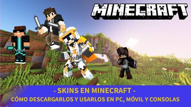 Minecraft - Cómo descargar y usar skins