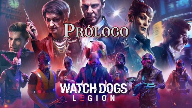 Operación Westminster (Prólogo) al 100% en Watch Dogs Legión